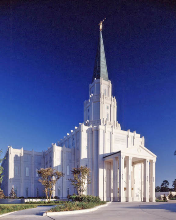 Mormon Temple Houston Texas The Houston Texas Mormon