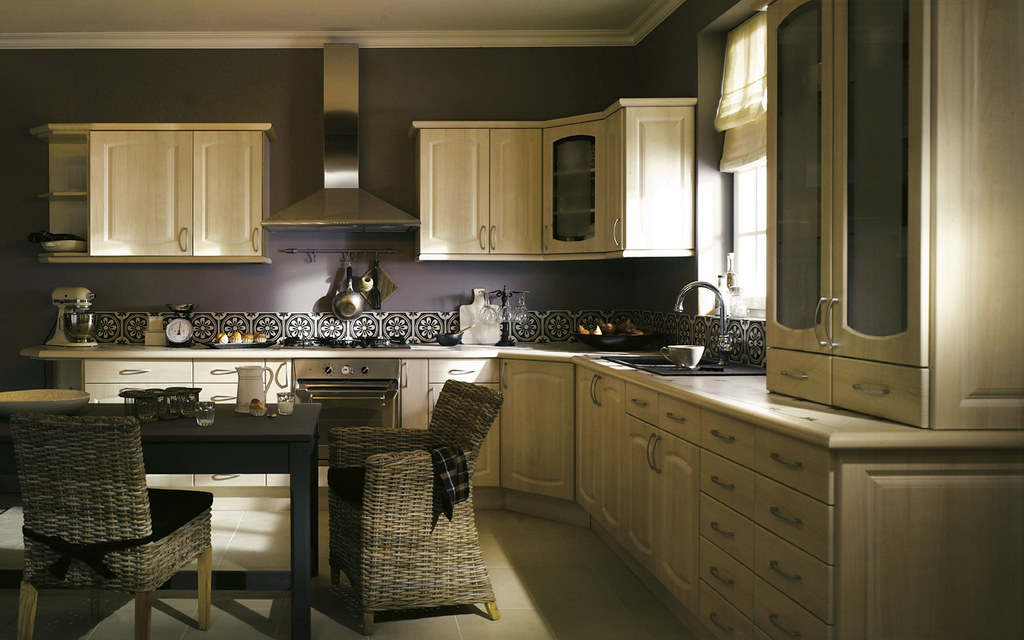 une cuisine chaleureuse castorama flickr. Black Bedroom Furniture Sets. Home Design Ideas