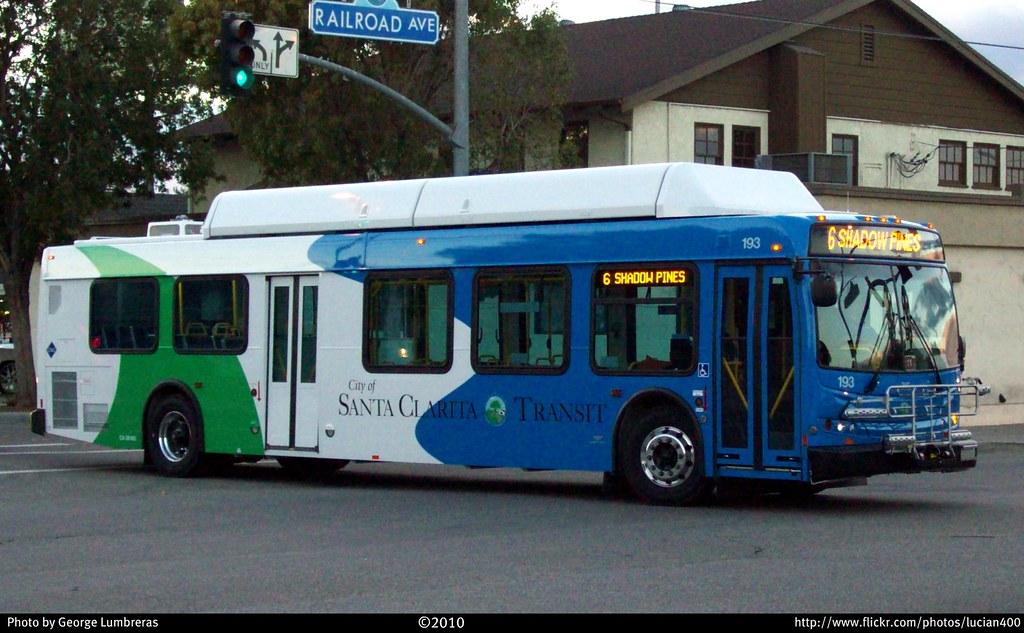 City Of Santa Clarita Transit New Flyer C40lfr 193 Flickr