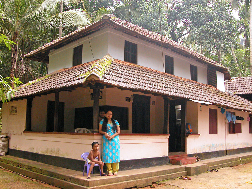 Tharavadu ancestral home taken at kerala for Kerala house photos