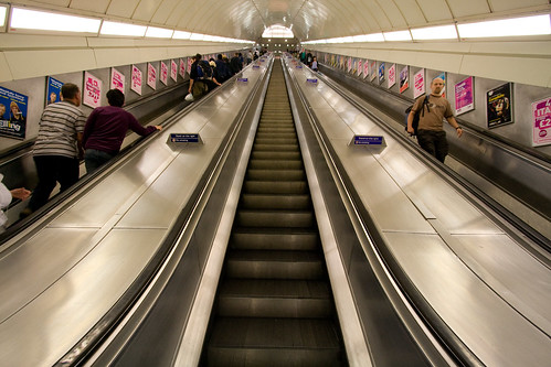 Escalator At Angel Tube Station Flickr Photo Sharing
