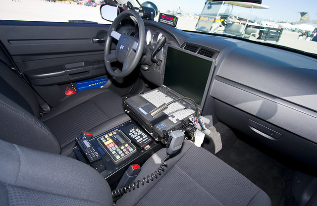 California Highway Patrol Dodge Charger Interior Ken