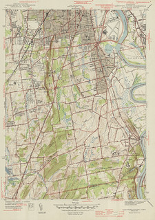 Hartford South Quadrangle 1944 - USGS Topographic Map 1:31,680 | by uconnlibrariesmagic