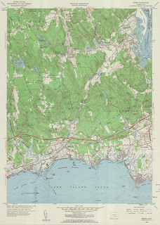 Essex Quadrangle 1958 - USGS Topographic 1:24,000 | by uconnlibrariesmagic