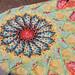 Dahlia Quilt Top, Detail