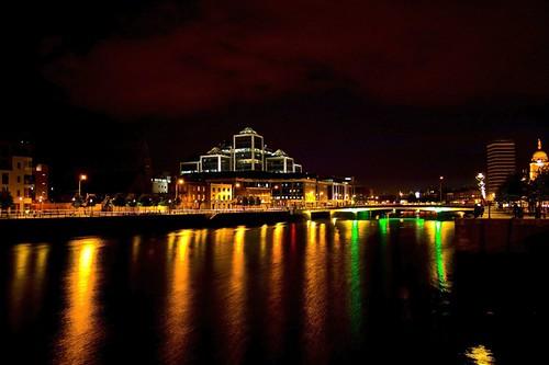 Dublin City at Night Dublin City at Night