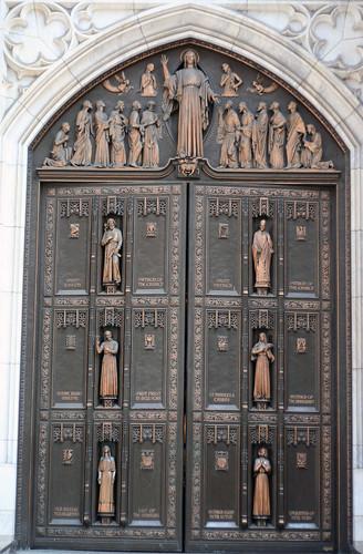St Patrick's Cathedral main doors | Flickr - Photo Sharing!