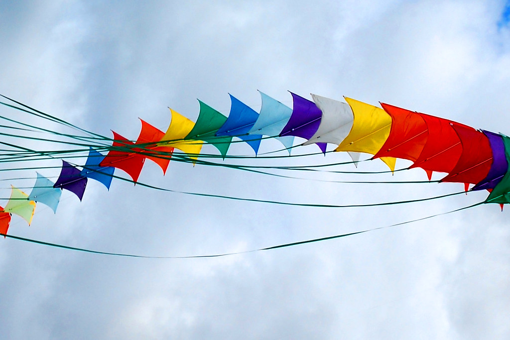 Colorful Kites by John Vetterli