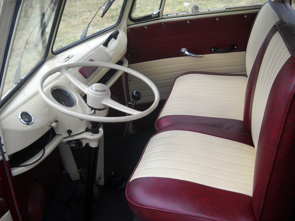 interior design vw t1 kombi bus 6 doors taxi new