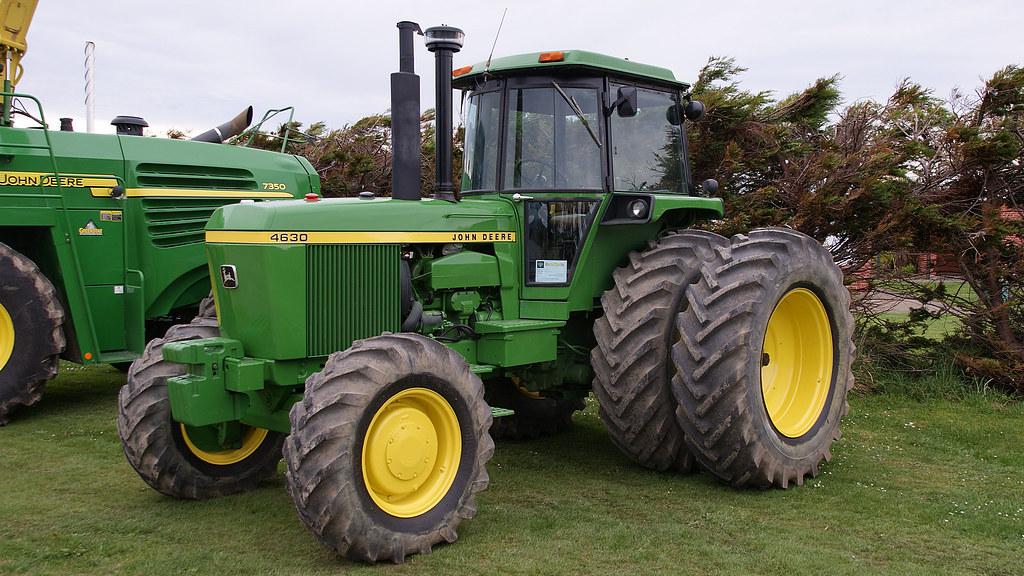 John Deere 4630 Tractor. | A Motor Vehicle show wa
