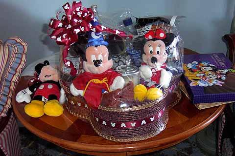Disney Florist Gift Basket | This gorgeous gift basket from … | Flickr