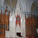 The Cathedra in the Cathedral of the Sacred Heart in Newark, Essex County, NJ