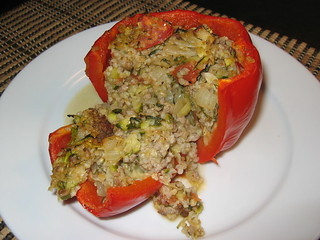 Greek Lamb Stuffed Peppers | by Kevin - Closet Cooking