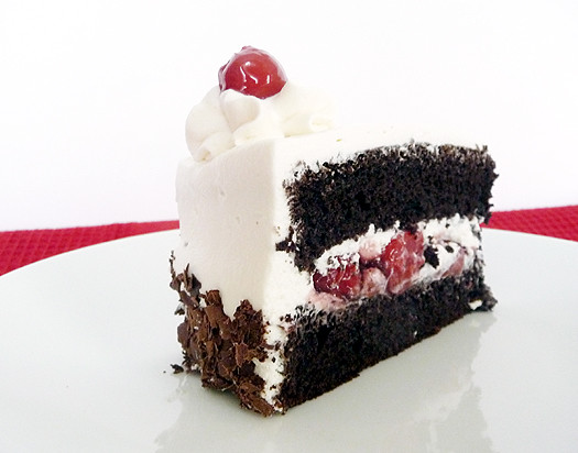 Cake Black Forest The Harvest : Slice of Black Forest Cake Black Forest Cake on ...