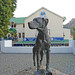 The statue of Just Nuisance, Simon's Town, South Africa