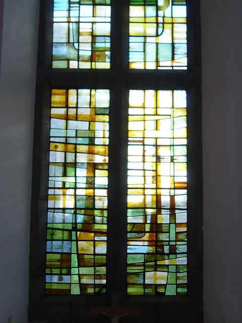 More modern stained glass flickr photo sharing for Contemporary stained glass