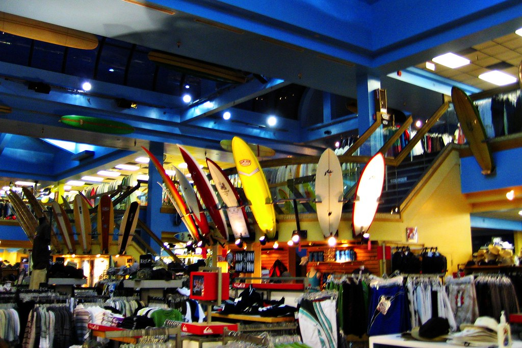 Inside Ron Jon Surf Shop | I love all the surf boards ...