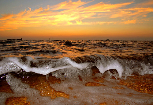 Beach Sunsets And Waves