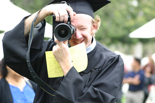 Photographer Ben Hipple at Commencement | by California State University Channel Islands