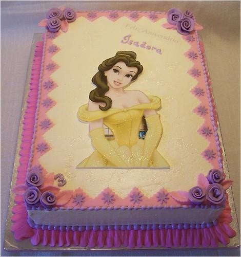 Princess Belle Cake Design Perfectend for