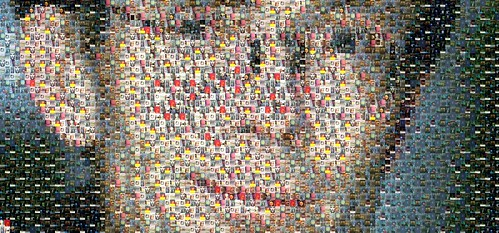 William Gibson Mosaic | by Hiro Sheridan