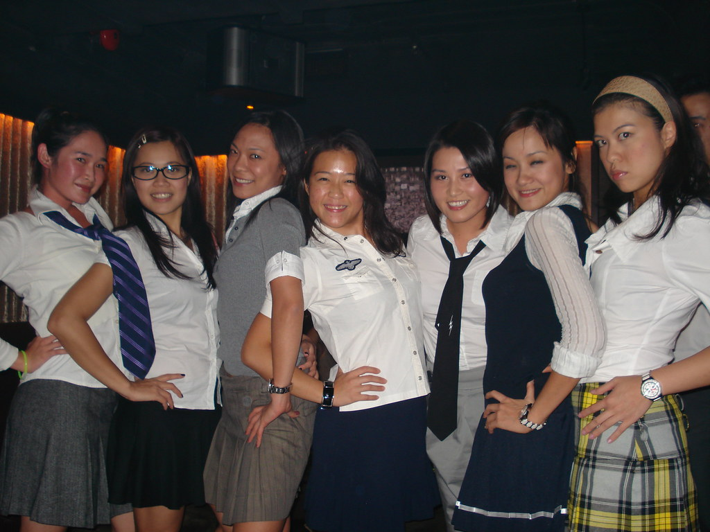 School Uniform Party  Carrie Chan  Flickr-9987