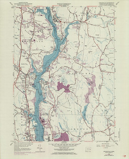 Uncasville Quadrangle 1970 - USGS Topographic Map 1:24,000 | by uconnlibrariesmagic
