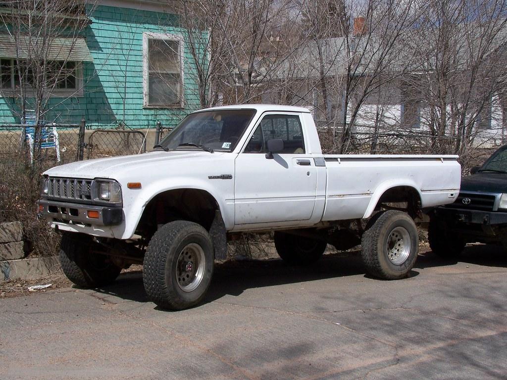 1983 Toyota 4x4 Pickup Full Story At Www Piketalk Com