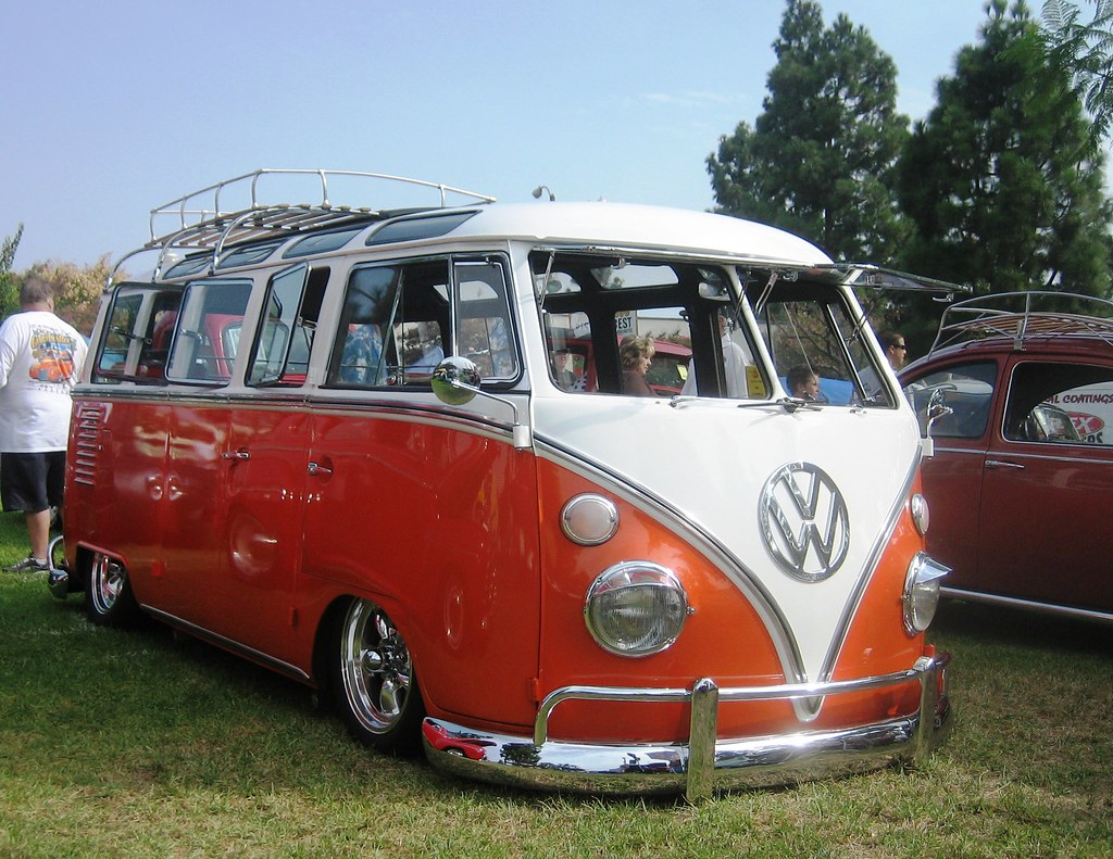 Vw Bus 23 Window 1963 Chino Car Show Low Rider Flickr