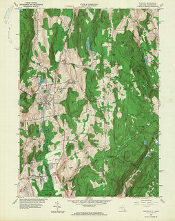 Pawling Quadrangle 1958 - USGS Topographic Map 1:24,000 | by uconnlibrariesmagic