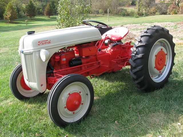 Ford 9n Mower : Ford n tractor flickr photo sharing