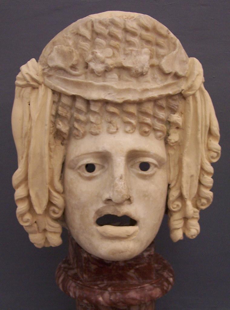 M 224 Scara Tr 224 Gica Tragic Mask Museo Civico Bologna