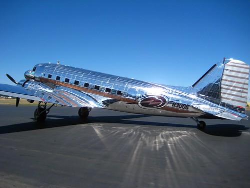 Shiny DC3 Dakota   Flickr - Photo Sharing!
