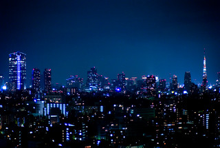 Night view from Westin Tokyo | by Joi