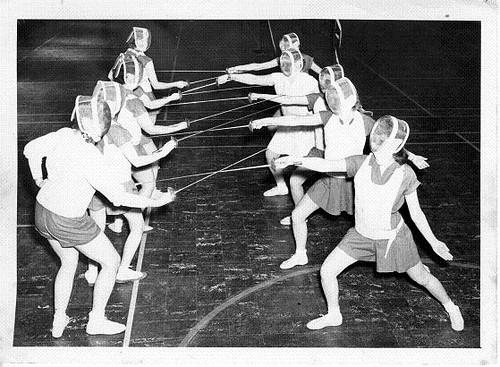 women u0026 39 s phys ed  1950s  1