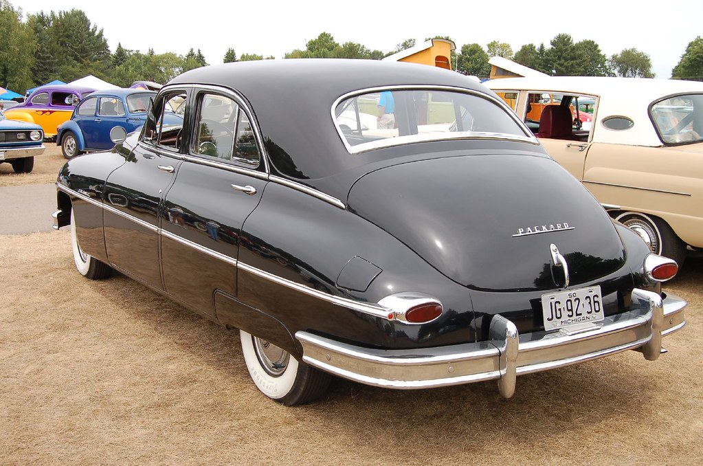 1950 packard super rear taken during the 2007 quotred barns