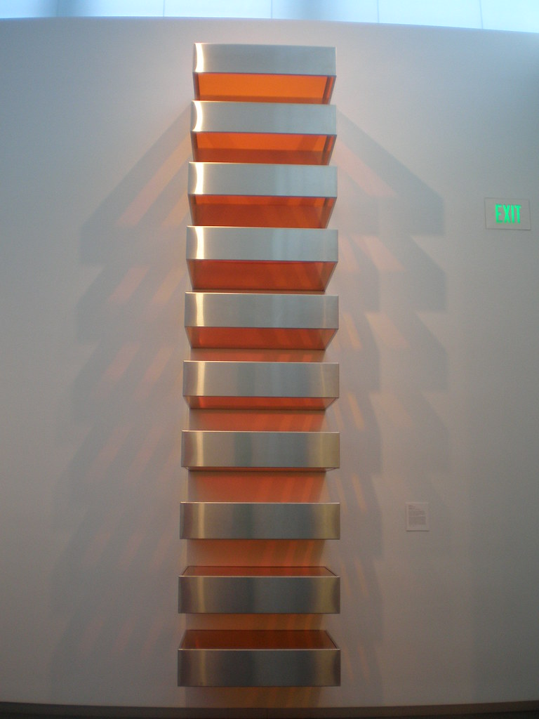 Donald judd 1968 39 large stack 39 nelson atkins museum of ar for Donald judd stack 1972