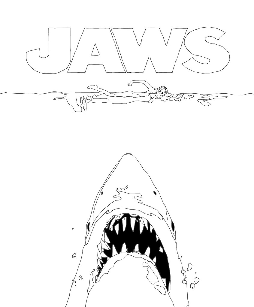Jaws Poster : ClaireHeffer : Flickr