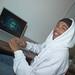 Teen working on movie trailer for X_MEN