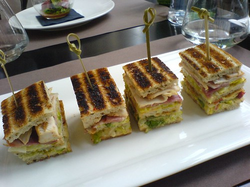 Club sandwich au poulet | by clotilde
