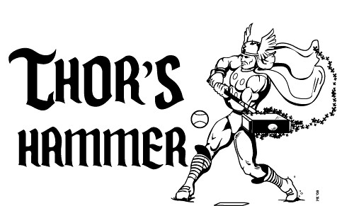 thor 39 s hammer shirt for softball peter flickr