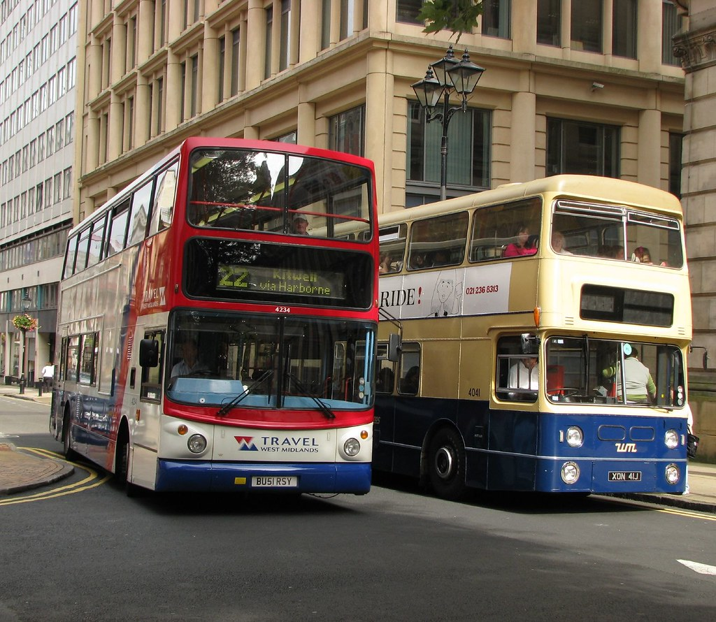 Old And New West Midlands Buses The Preserved Fleetline