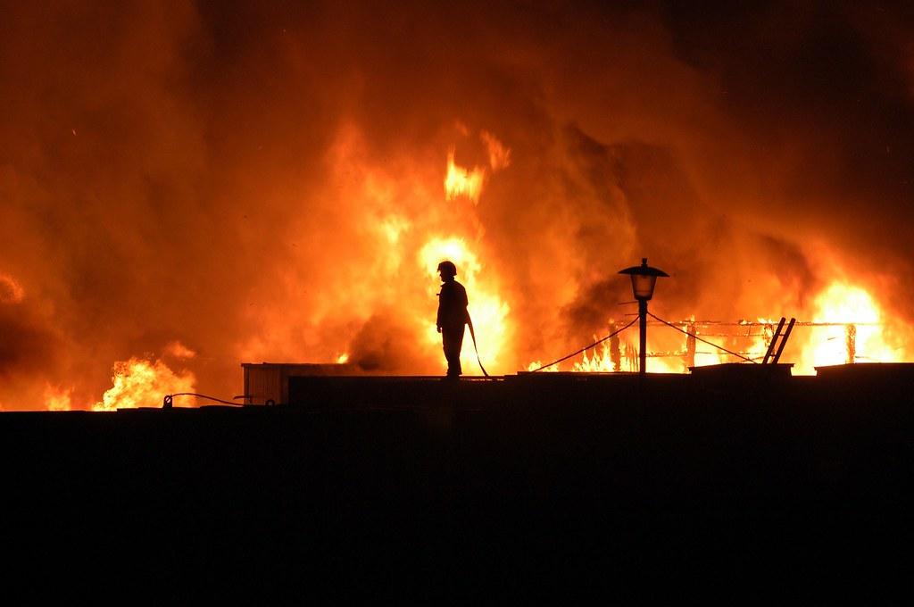 Avon Valley Fire | A fire at Avon Valley school Newbold ...