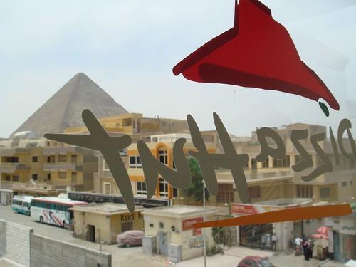 Fast Food Near Pyramids