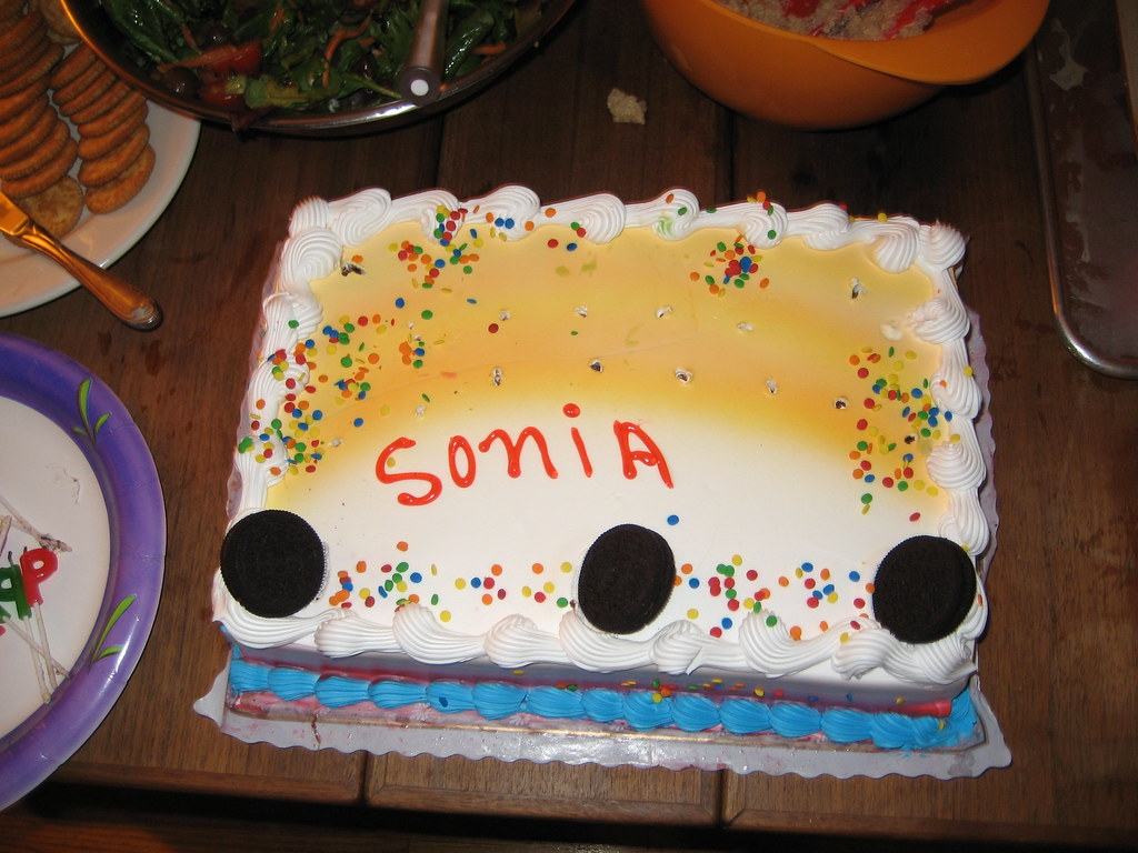 my cake! it just said my name... Sonia Powell Flickr