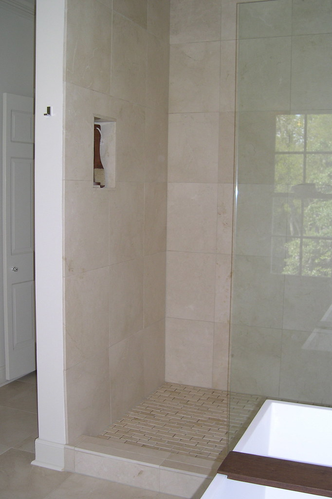 Crema Marfil Shower 16 Quot Crema Marfil Tile Shower
