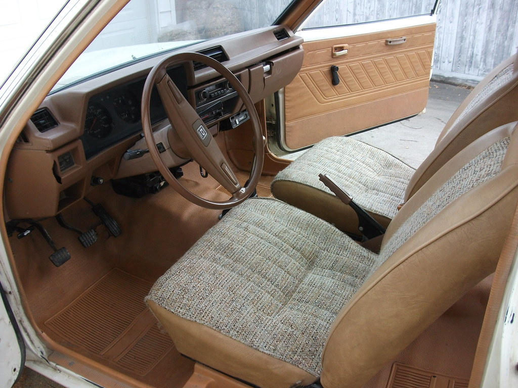 Interior Cleaned Datsun Its Base Car You Flickr