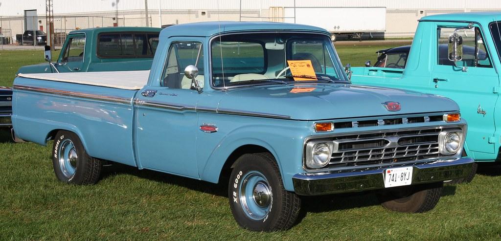 New Ford Ranger >> 1966 Ford F-100 Ranger Styleside pickup | Richard Spiegelman | Flickr