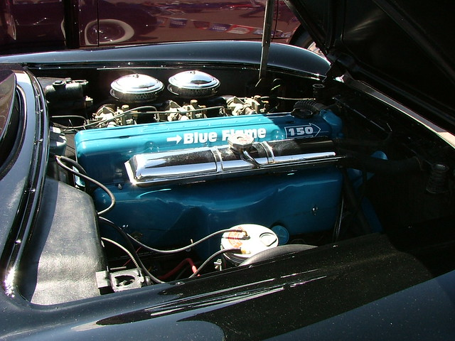 Chevy El Paso >> 1953 Chevy Corvette Convertible Blue Flame 6 cylinder engi ...