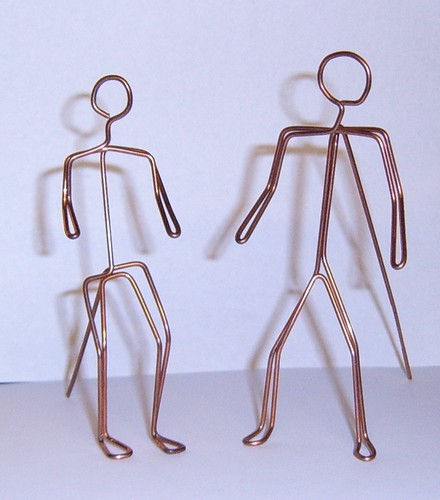 Wire Art Figures Flickr Photo Sharing